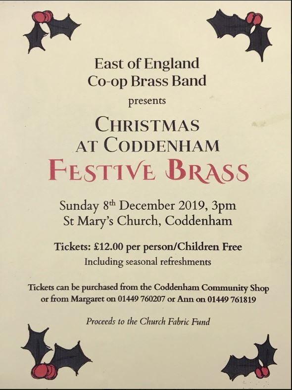 2019 Coddenham Christmas